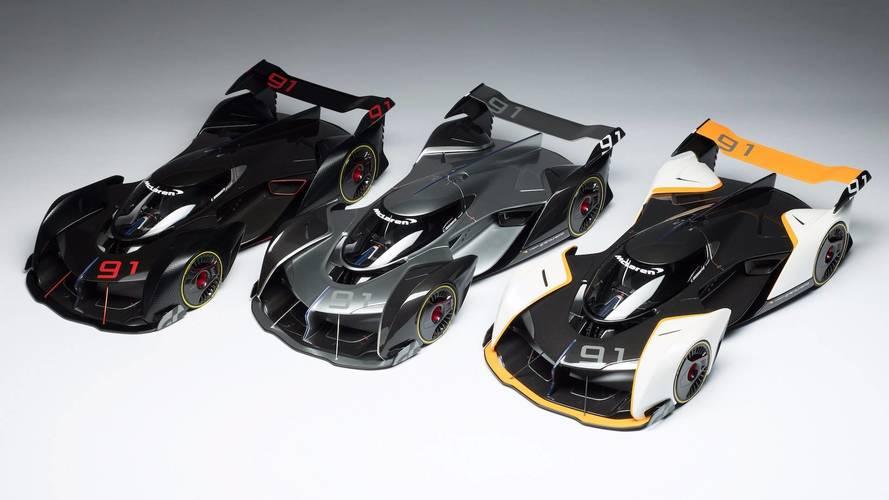 Amalgam Creates McLaren Ultimate Vision GT 1:8 Scale Model