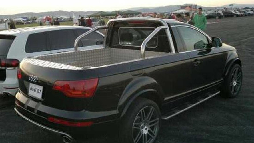 Audi Q7 pickup truck spied - is it an official concept?