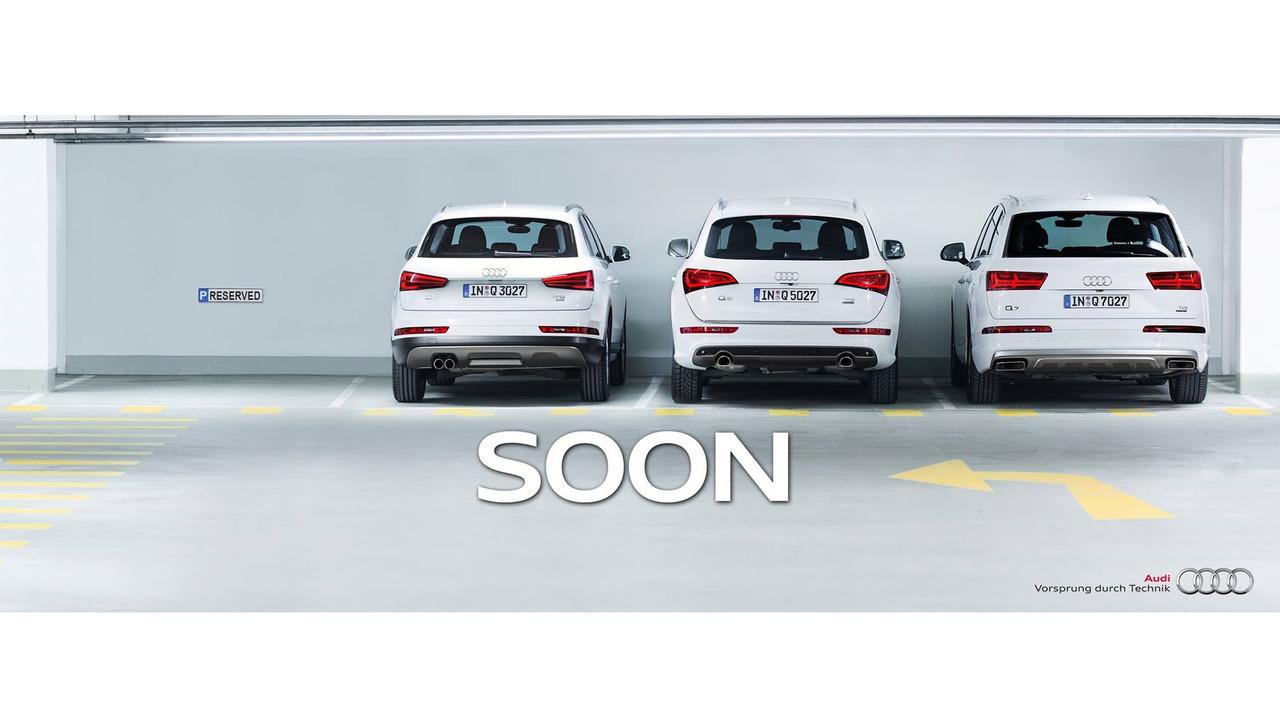 Audi Q1 teaser image