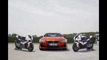 Haslam e Melandri provano la BMW M6 Coupé F13