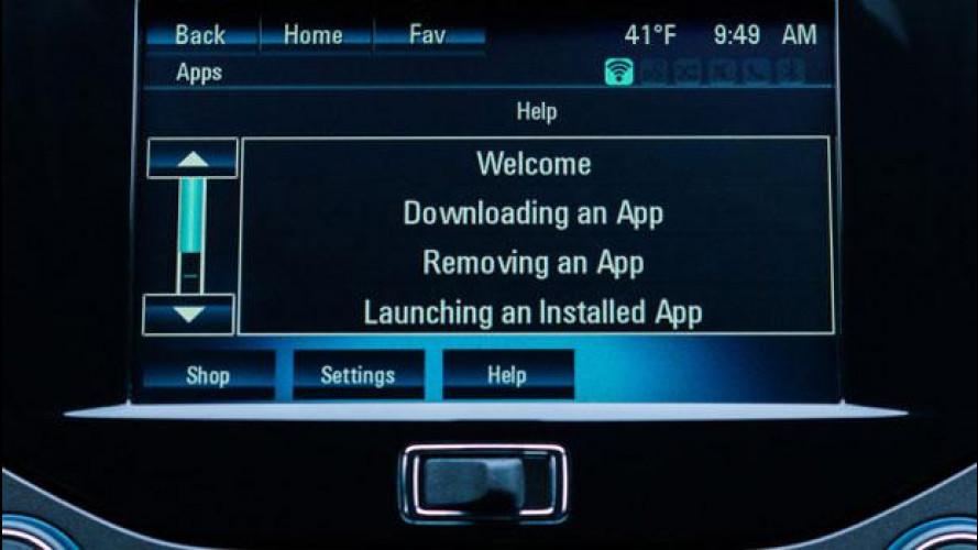 GM: sulle auto le app come negli smartphone