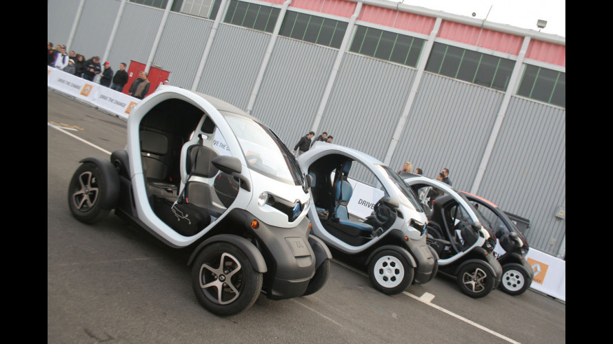 Renault Twizy: al via gli ordini italiani