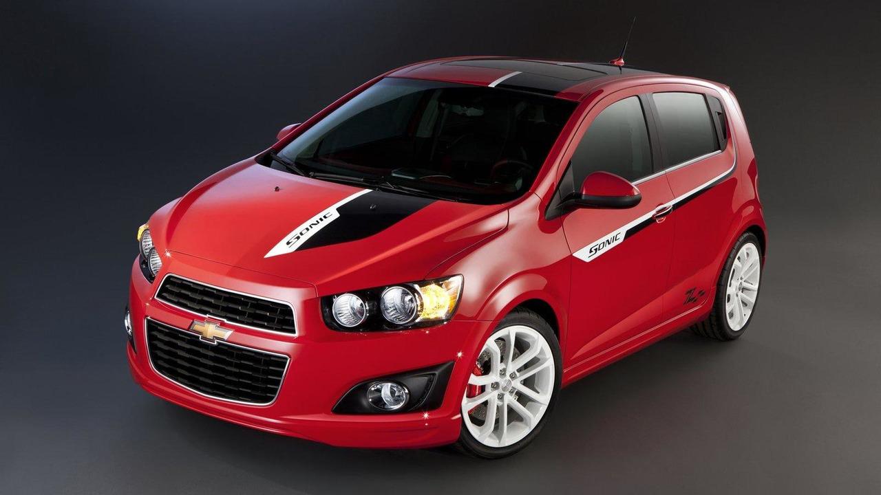 Chevrolet Sonic Z-Spec lineup for SEMA 25.10.2011