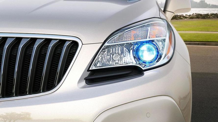 2013 Buick Encore teased for Detroit debut