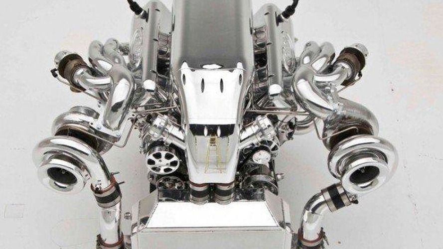 1400 HP 10.4 liter twin-turbo V8 by Nelson Racing Engines