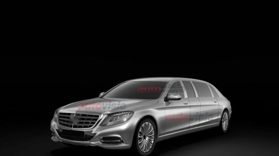 Mercedes-Maybach S-Class Pullman to debut in Geneva