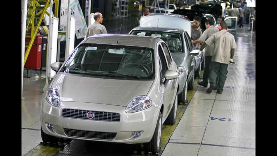 Fiat realizará parada técnica de dez dias na próxima semana
