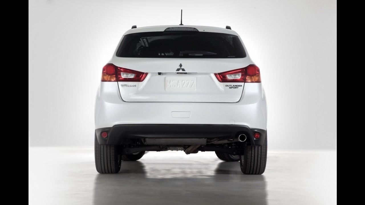 Salão de Nova York: Mitsubishi revela primeiras imagens do ASX reestilizado