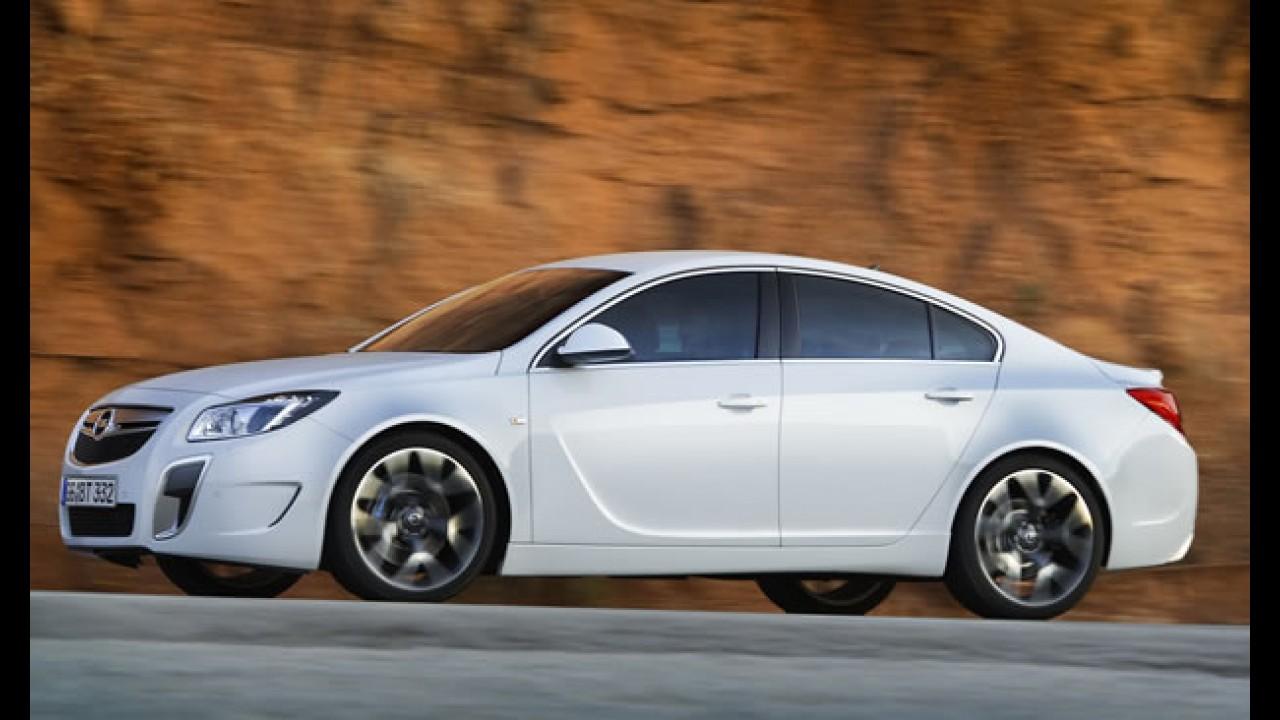 Sem limite: Novo Opel Insignia OPC Unlimited