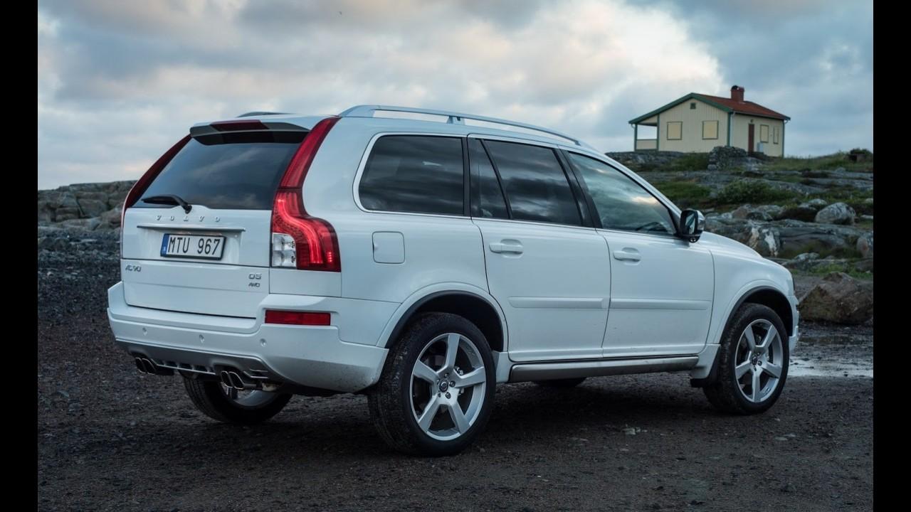Volvo produzirá velho XC90 na China após a chegada da nova geração