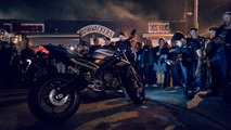 2017 Triumph Street Triple range debut event in Miami