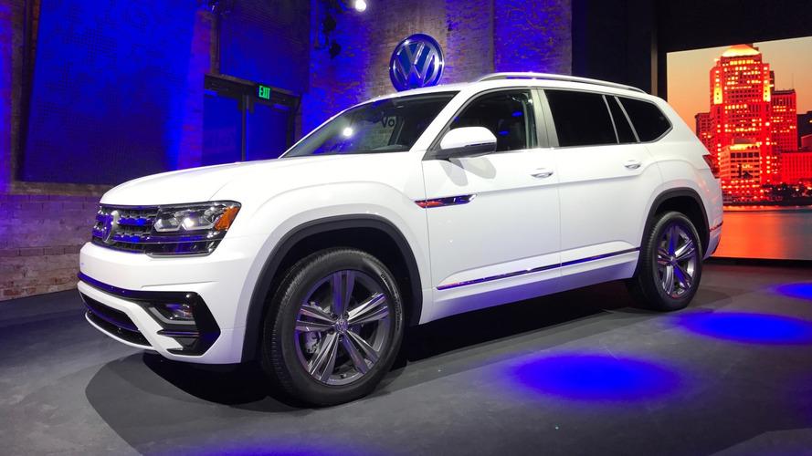 Volkswagen Atlas'a R-Line paketi