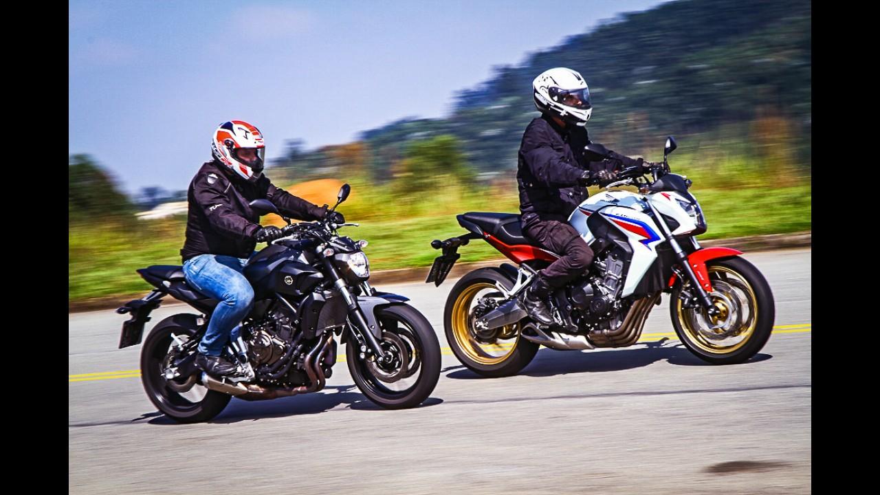 Esta é a versão final da Yamaha MT-07 que vai subir a Pikes Peak com piloto brasileiro
