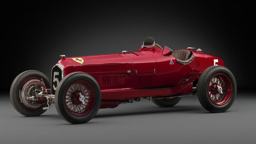 Une Alfa Romeo ex-Scuderia Ferrari en vente à Rétromobile