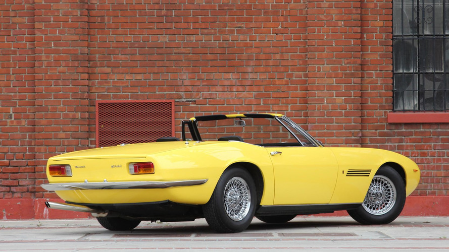 1969 Maserati Ghibli Spyder 920,000 $'a satıldı