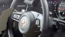Porsche 911 2019 fotos espía del interior