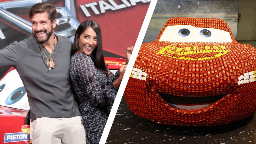 "Cars 3, debutto col ""botto"" tra Francoforte e serata VIP [VIDEO]"