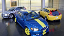 Three Ultimate Volvo C30s at 2006 SEMA