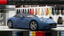 www.Ferrari.com pre-launch screenshots