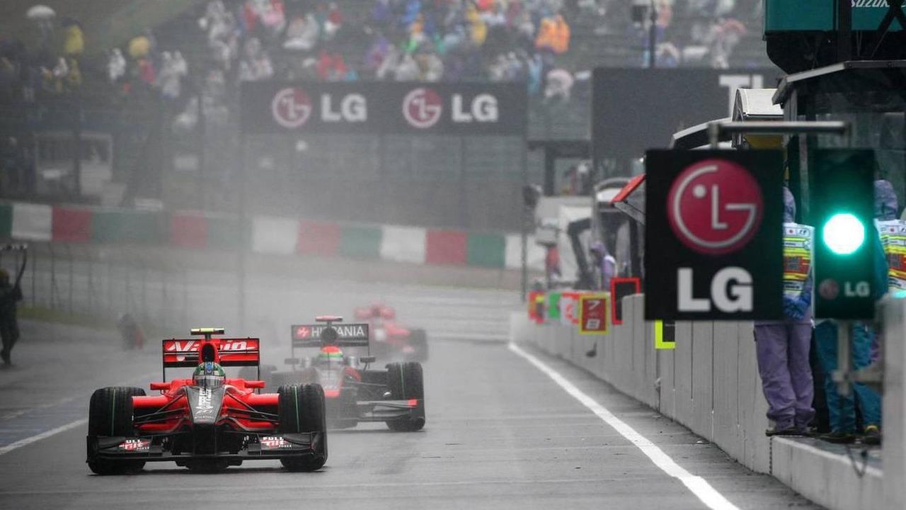 Lucas di Grassi (BRA), Virgin Racing - Formula 1 World Championship, Rd 16, Japanese Grand Prix, Saturday Practice, 09.10.2010 Suzuka, Japan