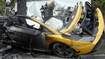 Lamborghini Gallardo crash, two fatalities, 600, 06.05.2010