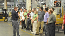 Inside a BMW factory
