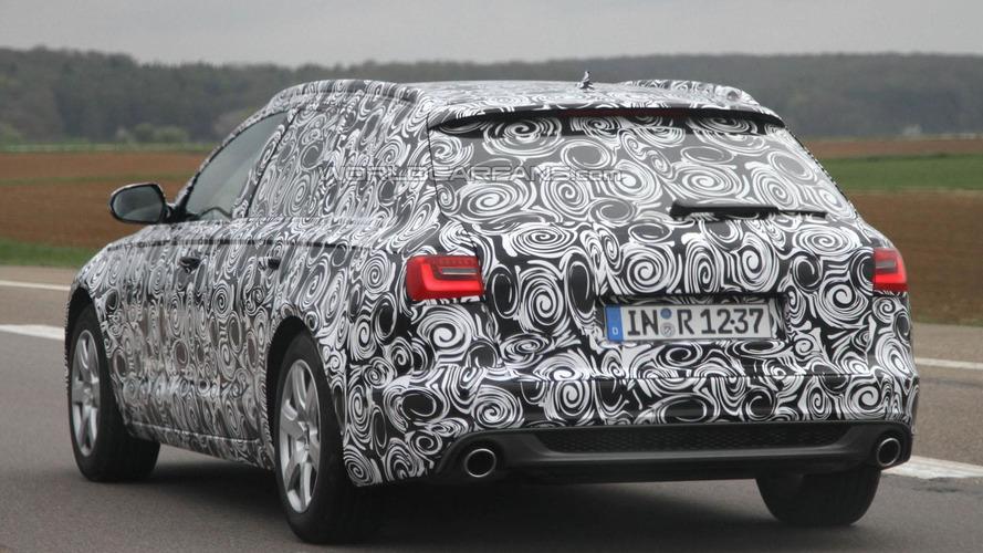 2012 Audi A6 Avant spied