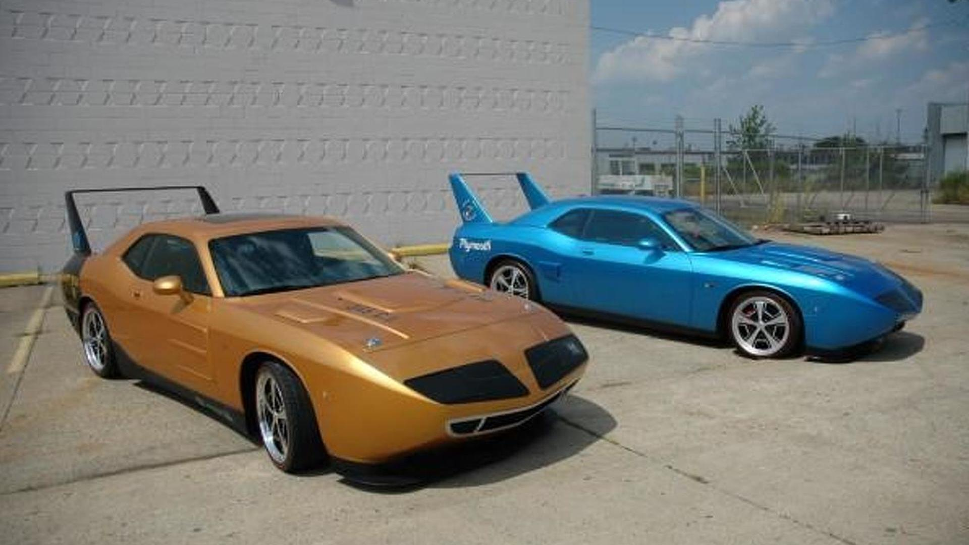 Dodge Challenger Conversion >> First HPP Plymouth Superbirds begin to roll
