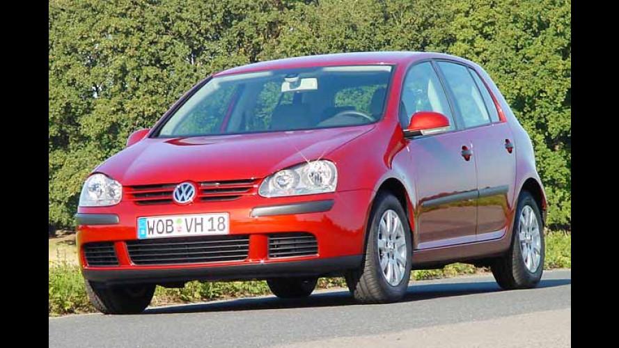 VW Golf billiger: Plus an Ausstattung soll Kunden locken