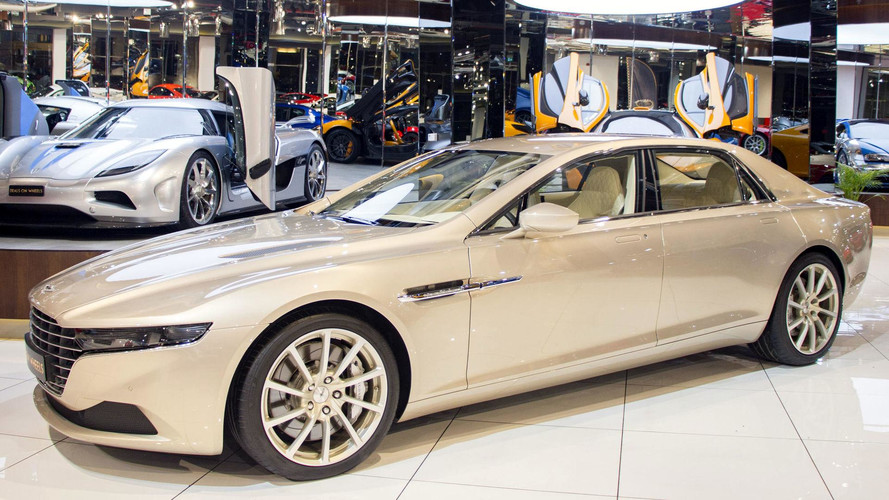Aston Martin - Cette rare Lagonda Taraf est à vendre
