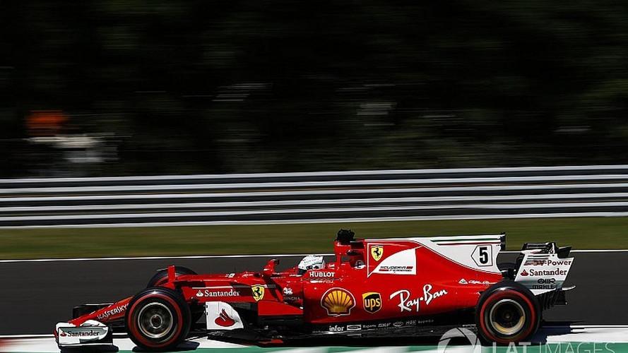 Vettel e Kimi superam Mercedes e largam na frente na Hungria