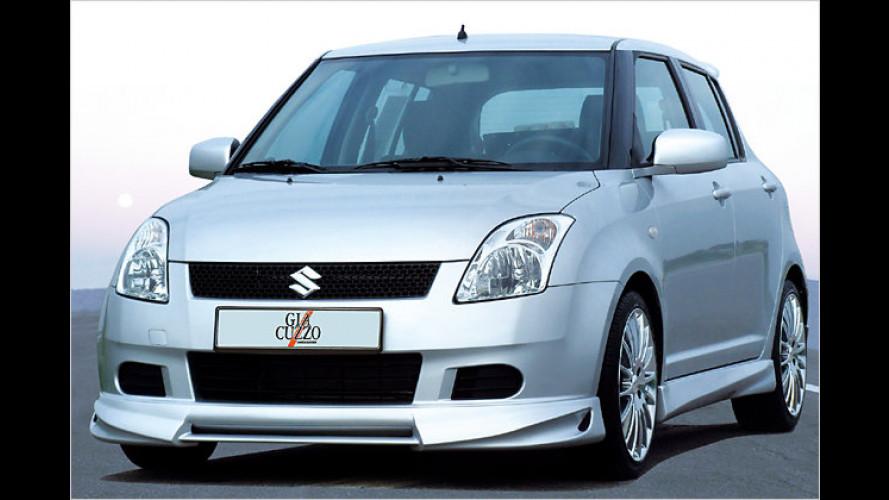 Suzuki Swift: Sportlicher Maßanzug von Giacuzzo