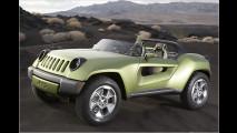 Sauberer Jeep-Offroader