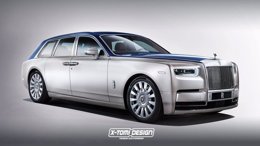 Rolls Phantom Shooting Brake Rendered, Undertakers Take Notice