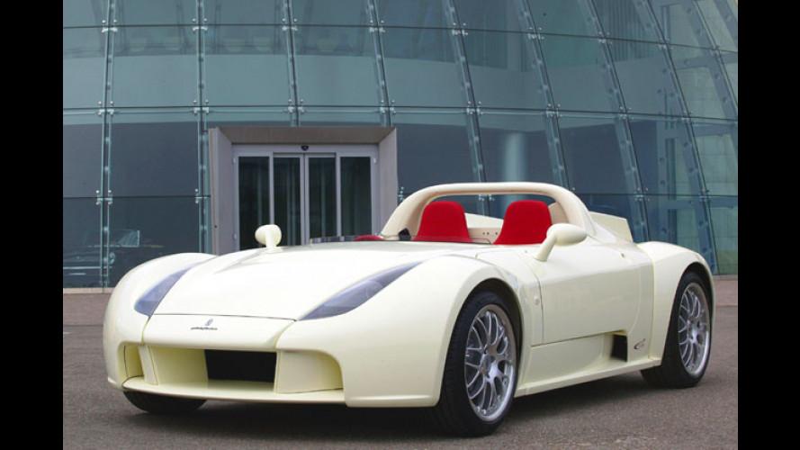 Pininfarina Enjoy: Edler Roadster auf Lotus-Basis