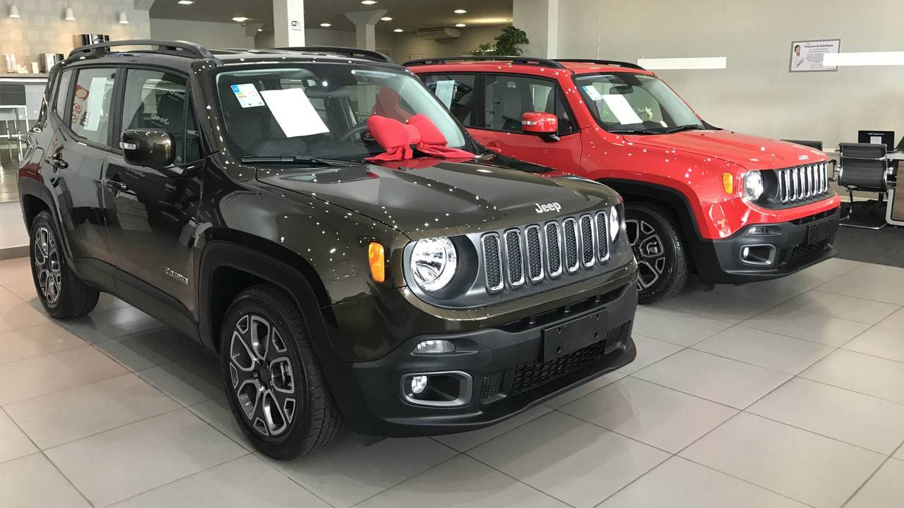 jeep renegade 2018 concession ria photo. Black Bedroom Furniture Sets. Home Design Ideas