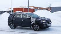 Hyundai Tucson facelift spy photo