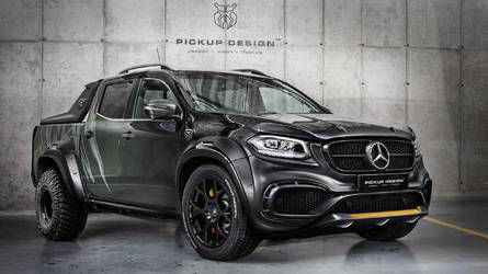 Mercedes X-Class By Carlex Design Gets Split Personality