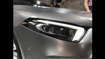 La nuova Mercedes Classe A vista dal vivo