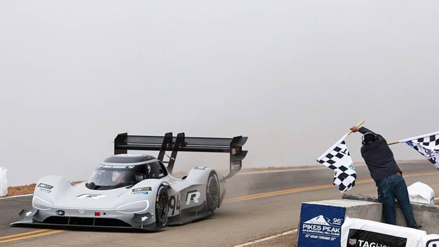Romain Dumas et la Volkswagen I.D. R triomphent à Pikes Peak