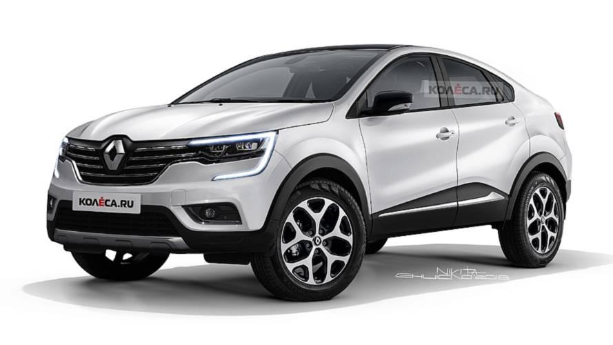 Fotókon a Renault Capture Coupé várható megjelenése
