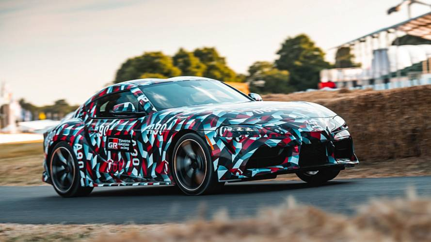 Toyota Supra, il video del debutto a Goodwood