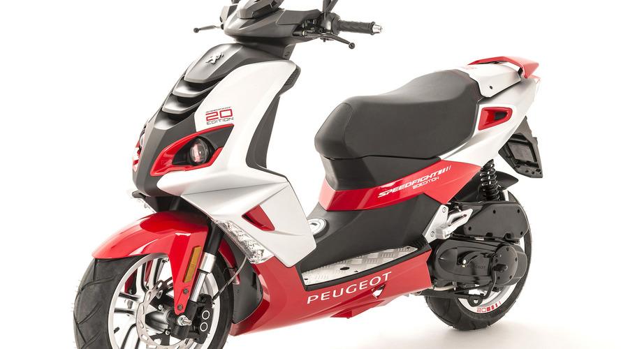 Peugeot Scooters celebra el 20 aniversario del Speedfight con una edición especial