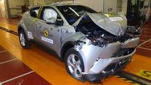 Toyota C-HR Euro NCAP test