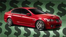 Pontiac G8 GXP List