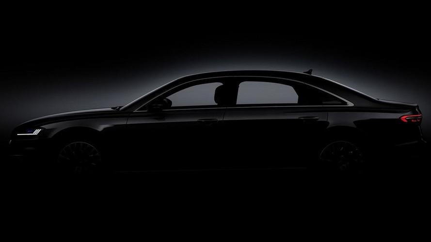 Novo Audi A8 - Teasers