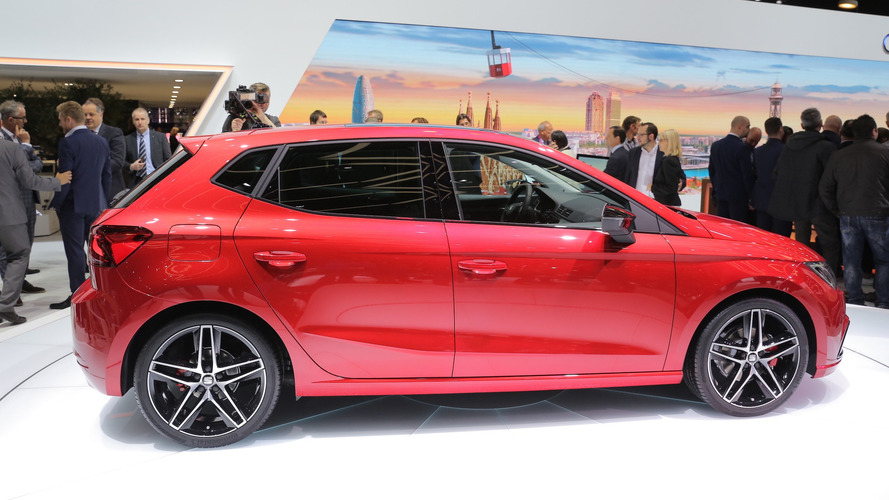 2017 SEAT Ibiza is a Barcelona star in Geneva