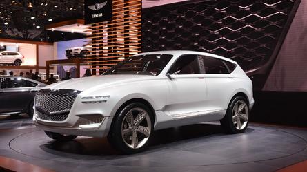 Genesis GV80 Concept antecipa primeiro SUV premium sul-coreano