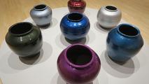 Ai Weiwei car paint urns