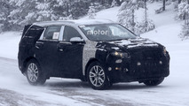 2018 Ssangyong Rexton spy photo